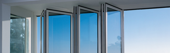 Gallery Aluminium Folding Doors Vertical Sliding