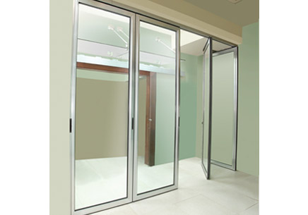 Alupark Sliding Parking Aluminium Glass Partitions For