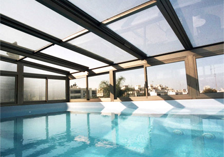 Glass Roofing Systems Retractable Roof Pergola