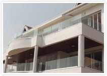 Glass Railings for Apartments