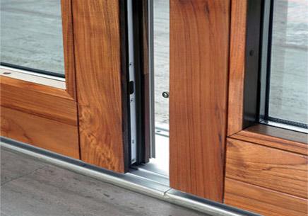 Aluminium Wood Doors Sliding Wood Aluminium Windows